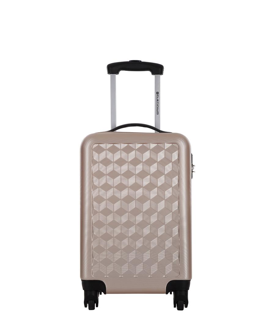 Campden beige spinner suitcase 46cm Sale - platinium