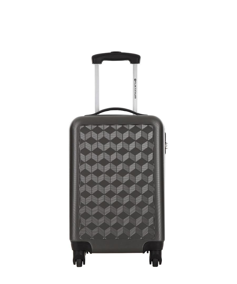 Campden grey spinner case 46cm Sale - Platinium Luggage