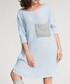 Sky blue contrast pocket jumper dress Sale - numinou Sale