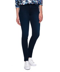 Alina indigo cotton denim jeggings
