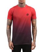 Faint red ombre cotton T-shirt