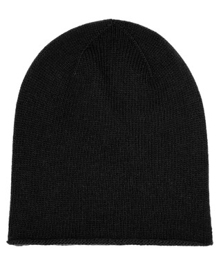 634f6206fda Black cashmere roll trim hat Sale - JOHNSTONS OF ELGIN Sale