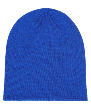 dbd2dc6c54a Bright blue cashmere roll trim hat Sale - JOHNSTONS OF ELGIN Sale