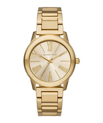 Hartman gold-tone steel watch