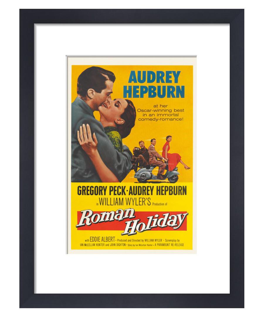 Roman Holiday framed print 36cm Sale - film classics