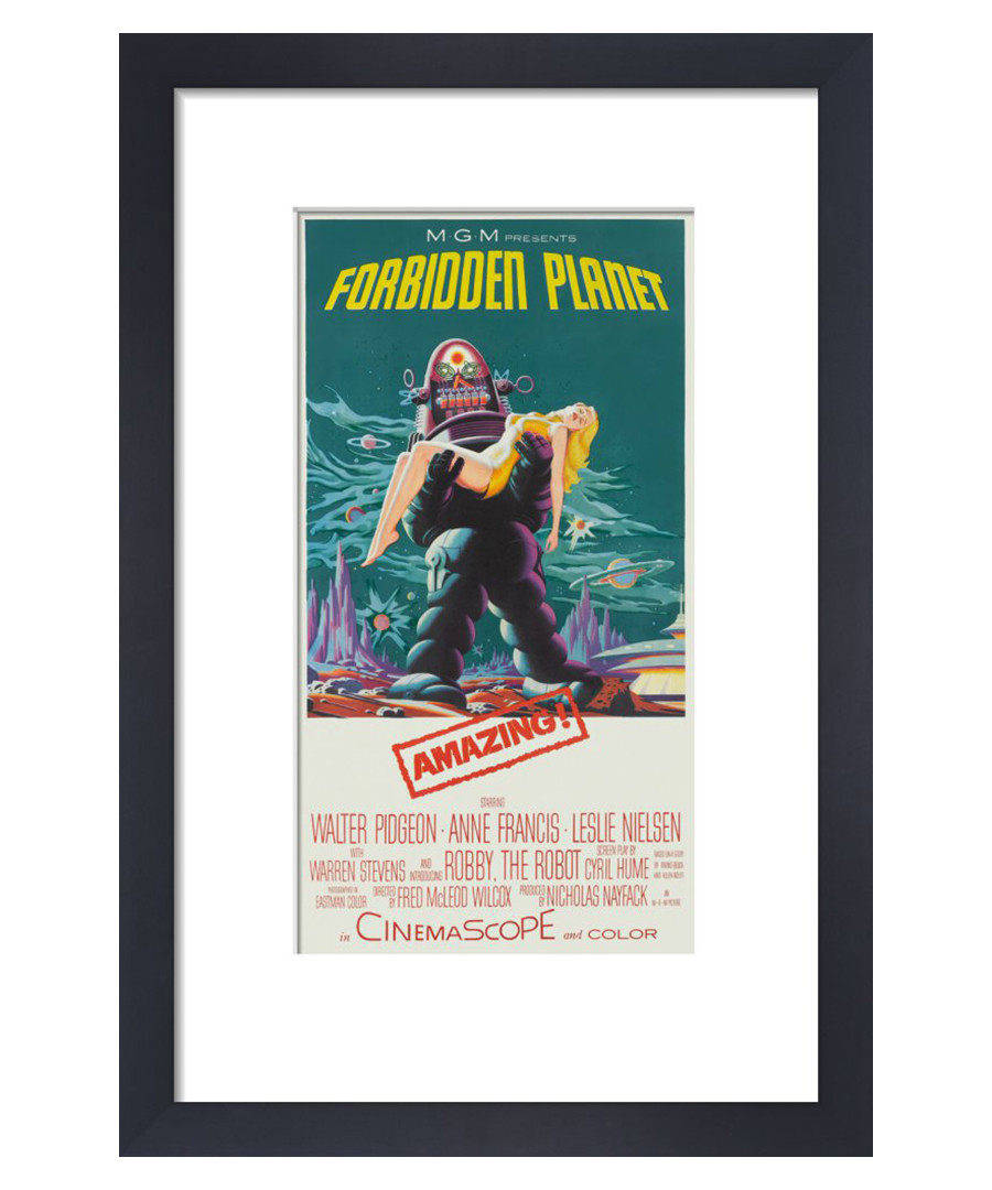 Forbidden Planet framed print 36cm Sale - film classics