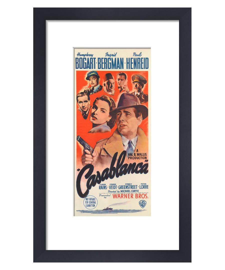 Casablanca framed print 36cm Sale - film classics