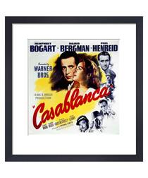Casablanca framed print 36cm