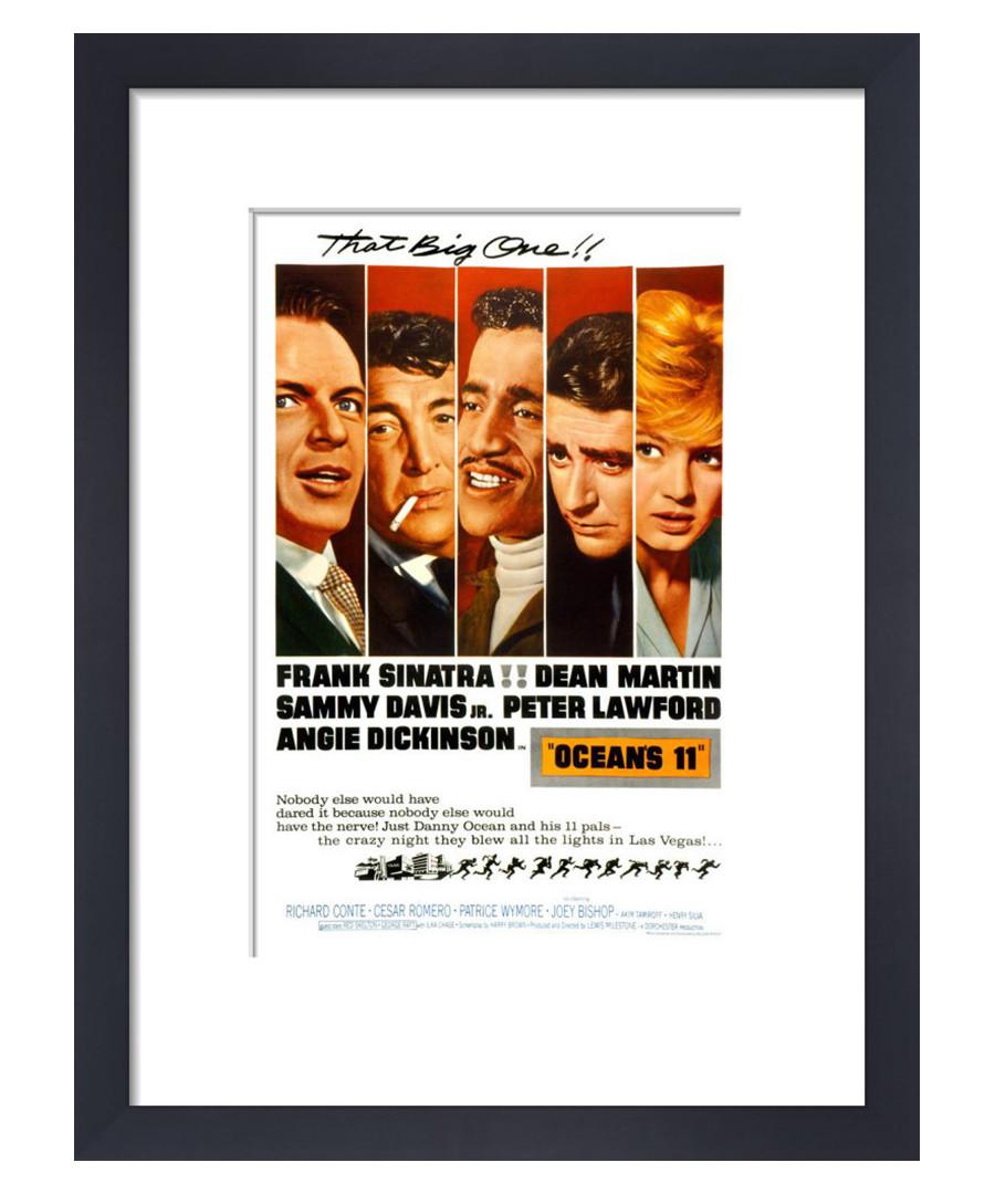 Oceans Eleven framed print 36cm Sale - film classics