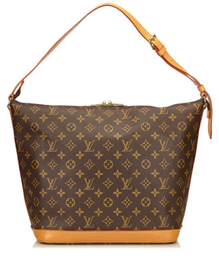 a5c9606c7e3 Amfar 3 brown canvas shoulder bag Sale - Vintage Louis Vuitton Sale