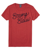 Arms Blauw red cotton blend T-shirt