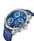 G4 blue leather strap watch Sale - jbw Sale