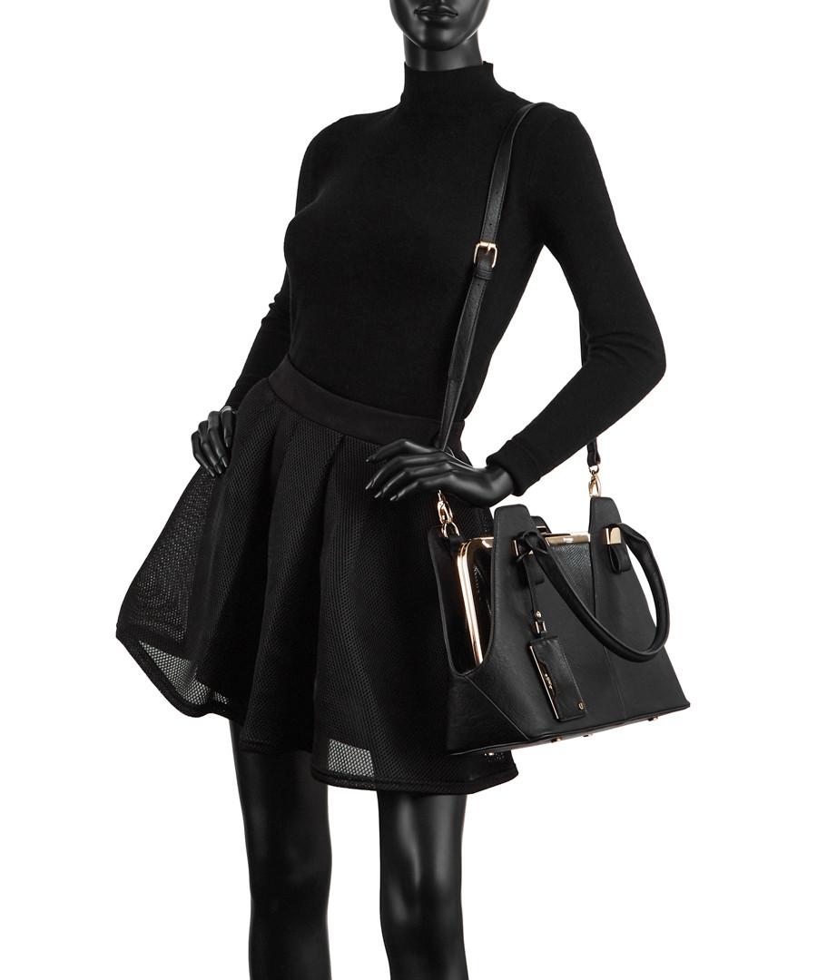 ee3567e5814c2 ... Dorah black reptile-effect grab bag Sale - Dune ...