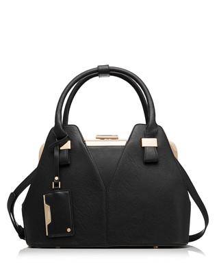 6865446f82434 Dorah black reptile-effect grab bag Sale - Dune Sale