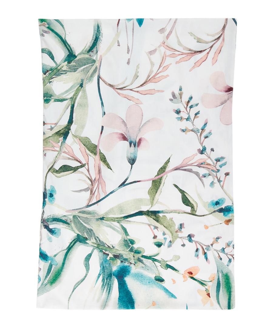Guiomar grey cotton pillowcase 65cm Sale - pure elegance