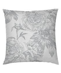 Guiomar grey cotton pillowcase 65cm