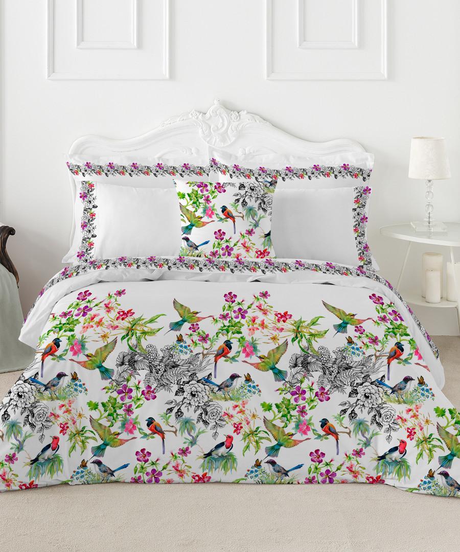 Katia king floral cotton duvet set Sale - pure elegance