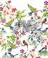 Katia double floral cotton duvet set Sale - pure elegance Sale