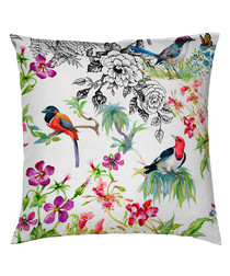 Katia floral cotton pillowcase 50cm