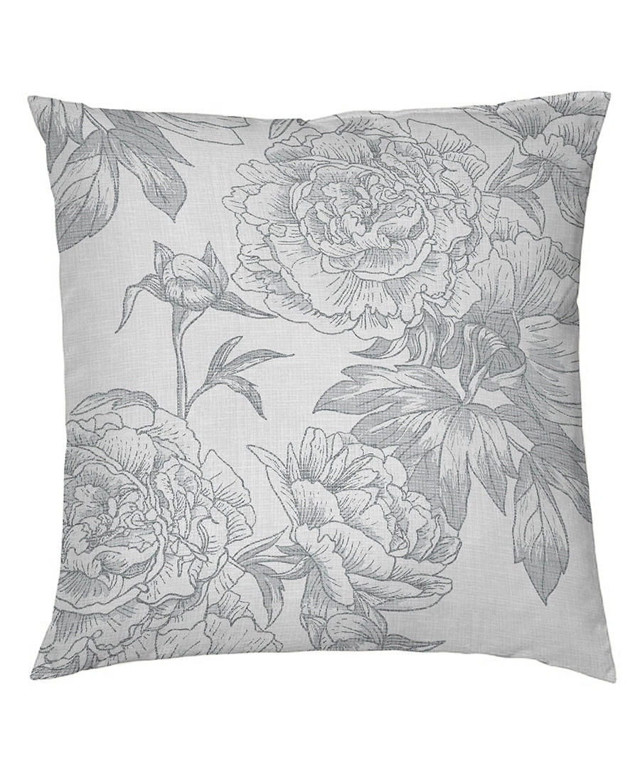 Guiomar grey cotton pillowcase 50cm Sale - pure elegance