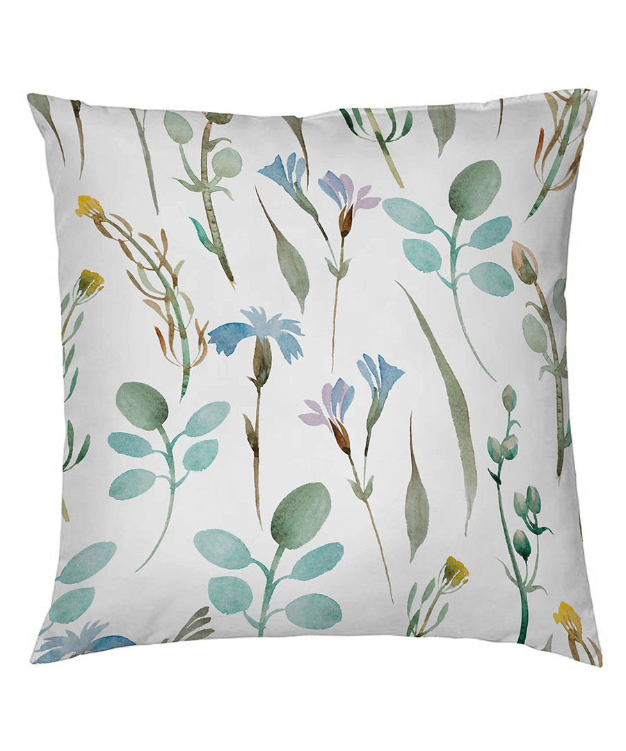 Peridot cotton square pillowcase 50cm Sale - pure elegance