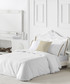Izora double white cotton duvet set Sale - pure elegance Sale