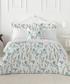 Peridot green cotton double duvet set Sale - pure elegance Sale