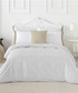 Izora single white cotton duvet set Sale - pure elegance Sale