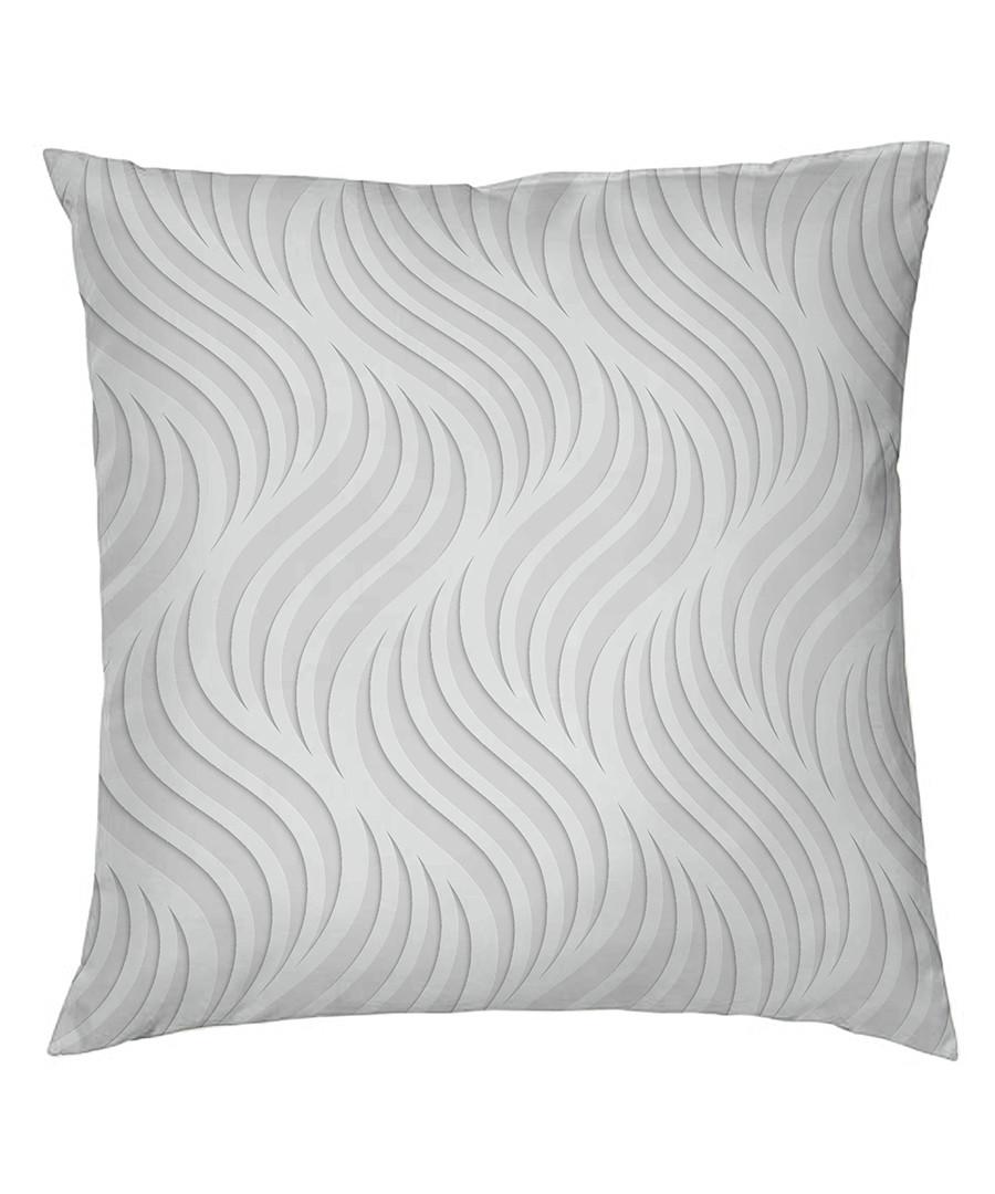 Zulema grey pure cotton pillowcase 65cm Sale - pure elegance