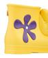 Girl's Monkey yellow & purple boots Sale - Melissa + Jeremy Scott Sale