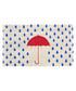 Rainy Day blue umbrella door mat Sale - bombay duck Sale