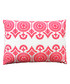 Safi pink cotton embroidered cushion Sale - Bombay Duck Sale