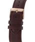 Empereur brown leather strap watch Sale - andre belfort Sale