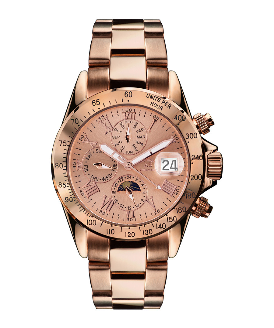 Le Capitaine rose gold-tone watch Sale - andre belfort