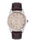 Le Maitre brown leather watch Sale - andre belfort Sale