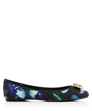 392dbc833 Ted Baker. Women s Imme blue butterfly flats