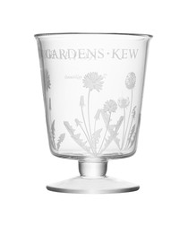 Kew glass dandelion motif lantern 24cm