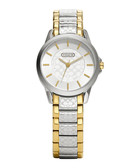 Classic Signature two-tone steel watch