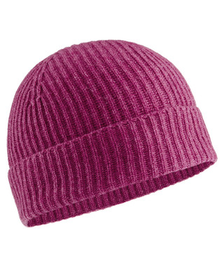 318534c5b82 Berry cashmere ribbed knit hat Sale - JOHNSTONS OF ELGIN Sale