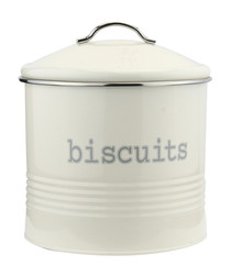 Cream biscuit storage canister