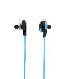 Mini Bluetooth black & blue earbuds
