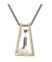 White Crystal Swarovski Element Necklace