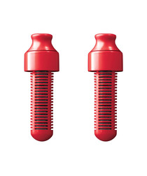 2pc red replacement filter