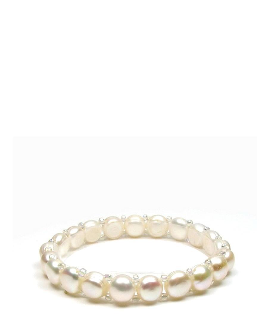 0.8cm freshwater pearl bracelet Sale - Blue Pearls