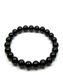 0.8cm black onyx bracelet