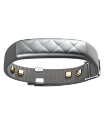 UP3 silver-tone fitness tracker