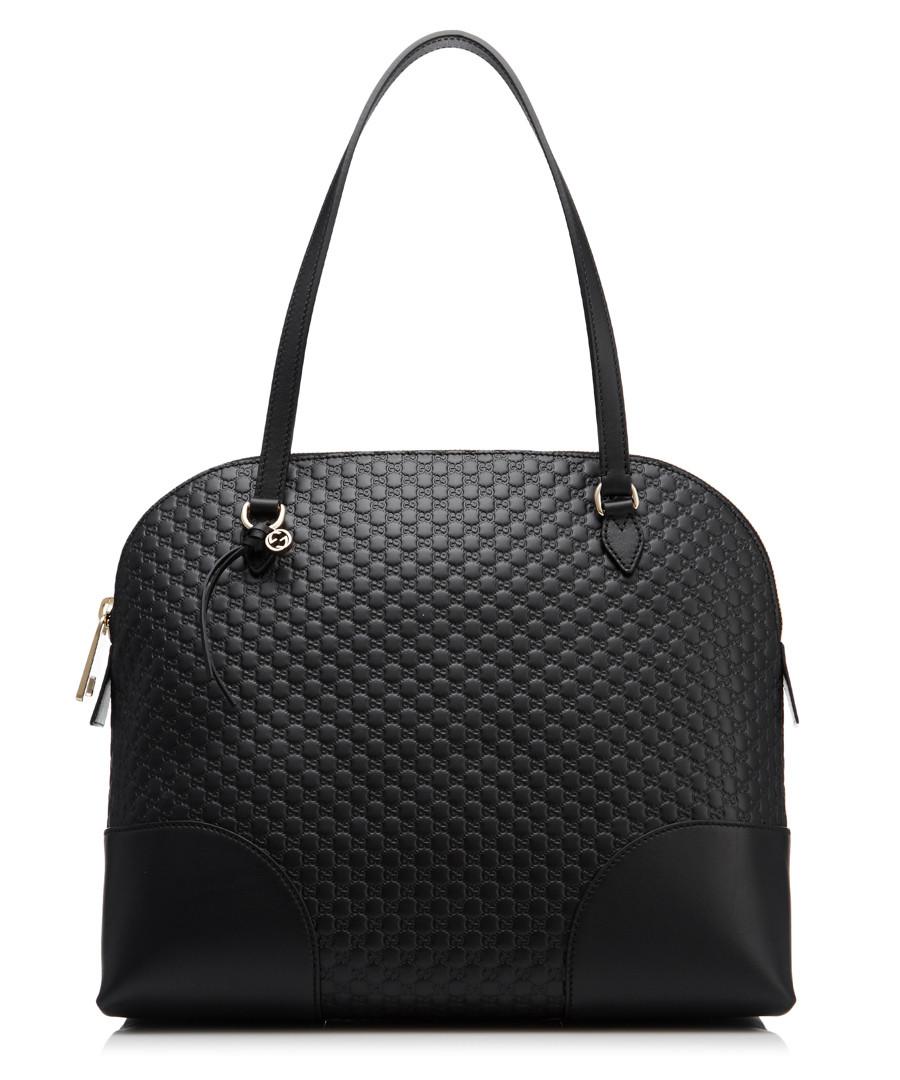 Guccissima black leather shoulder bag Sale - gucci