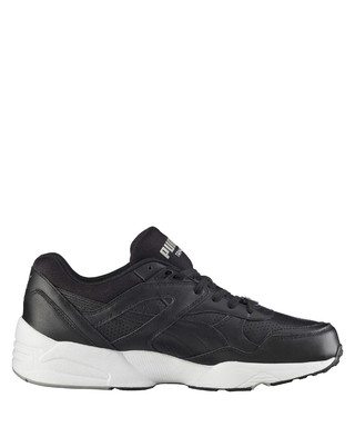 Core black   grey leather sneakers Sale - Puma Sale df969cba6