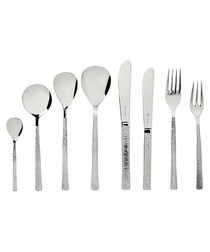 44pc Studio silver-tone steel set
