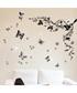 Multi-coloured butterfly wall stickers Sale - Walpus Sale